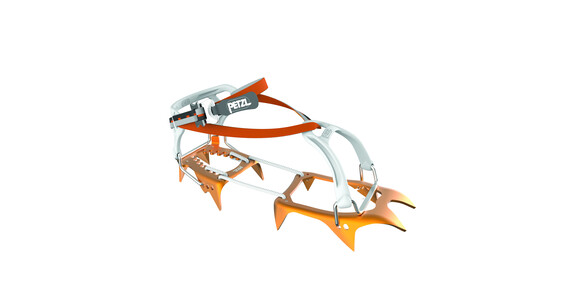 Petzl Leopard FL Crampons & Spikes orange